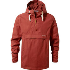 Craghoppers Woodridge Cagoule Mens Jacket Coat - Carmine Red All Sizes