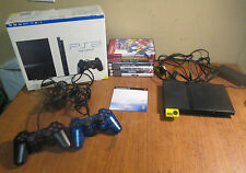 Sony PS2 Playstation 2 Slim Console SCPH-75001 Console Bundle