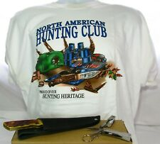 NAHC North American Hunting Club T-Shirt Hunting Knife Multi-tool combo Limited