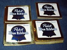 1950S RARE PABST BLUE RIBBON BEER LABEL LOT (100+/-) NEW UNUSED COND! SQUARE!!