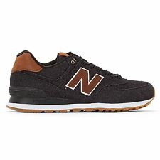 New Balance 574 Classic Traditionnels Brown Black Men's Low Top Trainers