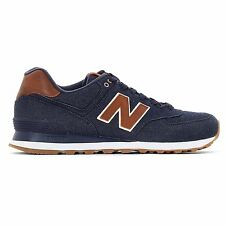 New Balance 574 Classic Traditionnels Navy Men's Low Top Trainers