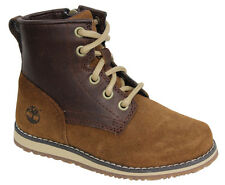 Timberland Newmarket Toddlers Lace Up 2 Tone Suede Brown Boots A1CFN D4