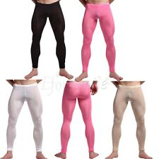Men Compression Pants Base Skin Tights Yoga Workout Gym Sports Trousers Sexy
