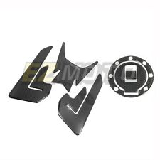 Carbon Fiber Look Tank Pad Gas Cap Protector Decal for YAMAHA YZF R6 YZFR6 600R