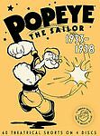 Popeye the Sailor 1933-1938 - Volume One (DVD, 2007) Fast Free Shipping!