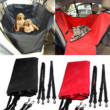 Pet Dog Cat Travel Car SUV Back Seat Hammock Cover Protector Carpet Mat Safety