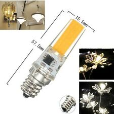 1/5/10x COB 7W E11/E12/E14/E17 Led light lamp Dimmable bulb 110/220V White/Warm