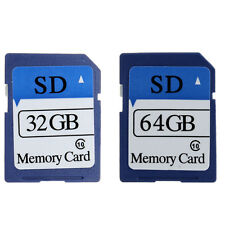 32GB 64GB SD Card Secure Digital Flash Memory Cards Class 10 For Camera Mp3 PC