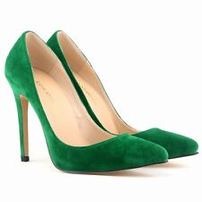Women Stiletto High Heels Court Shoes Pointed Toe Pumps Wedding OL Party Hot