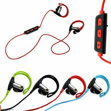 Wireless Sports Bluetooth Headset Earphone Stereo Headphone For LG iPhone Tablet