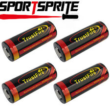 1/2/4pcs TrustFire 26650 3.7V 5000mAh Protected Rechargeable Li-ion Battery Cell