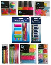 Novelty PENS & ERASERS - Rubber Pencil Children Gift School Home Office {Anker}