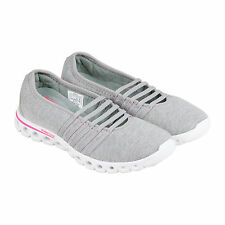 K-Swiss X Lite MJ Heather CMF Womens Grey Textile Slip On Sneakers Shoes