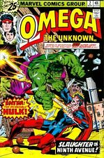 Omega The Unknown (1976) #2 FN- 5.5 LOW GRADE