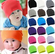 Baby Boy/Girl Unisex Cotton Beanie Hat for Cute Soft Toddler Infant Cap 12 Color