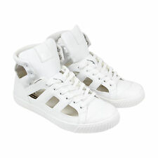 Onitsuka Tiger Ok Glory Gladiator Mens White Leather High Top Sneakers Shoes