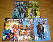the Authority: More Kev #1-4 VF/NM complete series + one-shot - garth ennis set