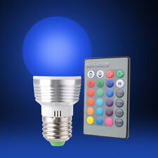 Sunix Energy Saving E27 LED Bulb Light 16 Colors Change RGB / Remote Controller