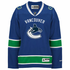Reebok Vancouver Canucks Women's Blue Premier Home Jersey - NHL