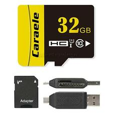 3 in 1 High Speed Class 10 Micro SD TF Flash Memory Card Card Reader USB Adapter