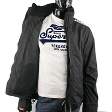 SUPERDRY mens Technical WINDCHEATER Jacket S M L XL XXL Black / White X1
