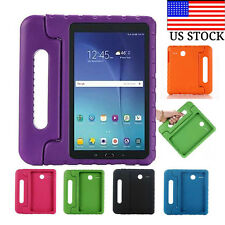 """Shock Proof EVA Foam Handle Stand Case Cover For Samsung Galaxy Tab E 8.0"""" T377"""