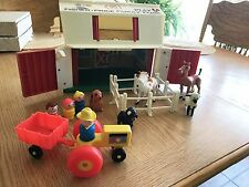 Fisher Price Vintage Little People Play Family Farm 1967  #915