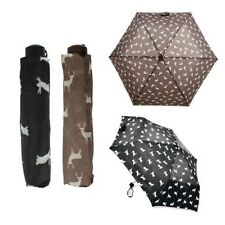 Drizzles Ladies Animal Print Supermini Umbrella Label UU162