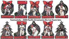 2000 Pacific Ornaments Baseball Set ** Pick Your Team **