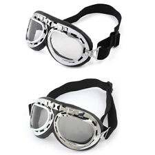 Winter Silver Tone Frame Cycling Outdoor Protective Glasses Anti Fog Ski Goggles