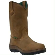 MEN'S JOHN DEERE SOFT TOE H20 WELLINGTON WORK BOOTS JD4504