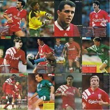 90 MINUTES football magazine player A4 picture poster Liverpool FC - VARIOUS