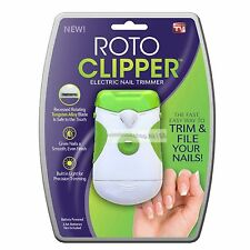 *New* Roto Clipper Electric Nail Trimmer As Seen On Tv Ship From US