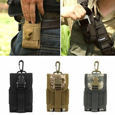"4.5"" Universal Tactical Molle Cell Phone Bag Case ID Card Holder Phone Pouch"