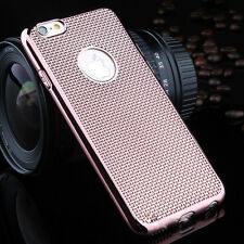 Luxury Stylish Electroplated Dotted Case  RoseGold For iPhone 5 5s {hc]174