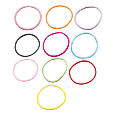 Girl Elastic Rubber Hair Tie Rope Ring Band Haristyle Maker Holder 50 Pcs