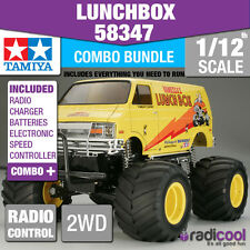 COMBO DEAL! 58347 TAMIYA LUNCH BOX 1/12th R/C KIT RADIO CONTROL 1/12 TRUCK