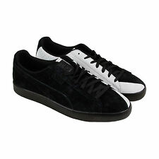 Puma Puma X Staple Clyde Mens Black Suede Lace Up Sneakers Shoes