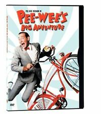 Pee-Wees Big Adventure (DVD, 2000, Letterboxed) WORLD SHIP AVAIL