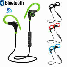 For iPhone Samsung LG Wireless Bluetooth Sport Headset Headphone Earphone Stereo