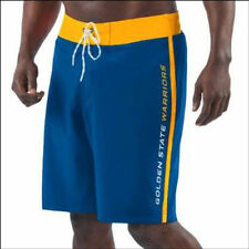 G-III Sports by Carl Banks Golden State Warriors Royal Endurance Swim Trunks