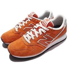 New Balance WR996LA D Wide Orange Suede Womens Running Shoes Sneakers WR996LAD