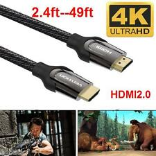 HDMI Cable V2.0 4K@60Hz 3D 1080P HDTV LCD LED XBOX PS4 Blueray High Quality Lot