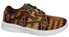 Vans Pendleton Iso 2 Lace Up Brown Woolen Mens Trainers