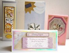 Handcrafted Greetings Cards Happy Birthday/Just for You + Env NEW