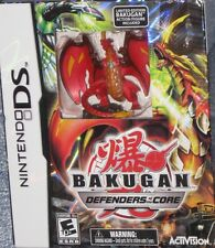 NEW Nintendo DS Bakugan Battle Brawlers Defenders of the Core w/Red Limited Ed.