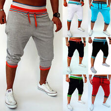 Mens Casual Trousers Shorts Baggy Jogger Harem Training Dance Pants Sports Pants
