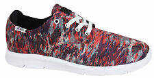 Vans Off The Wall Prelow Mili Stripe Red White Mens Lace Up Trainers