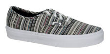 Vans Authentic Lace Up Mens Womens Unisex Textile Stripes Plimsolls